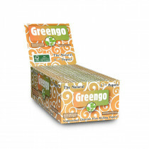Display greengo unbleached 1 1/4 papers