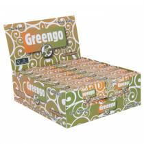 Display greengo unbleached wide rolls 53 mm 24 pcs