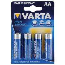 Varta high energy batteries aa 4 pack