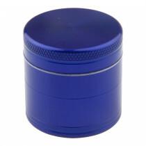 Aluminium grinder 4 parts 50mm blue