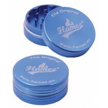 Flamez grinder 2 parts 40 mm blue