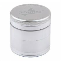 Flamez grinder 4 parts 40 mm silver