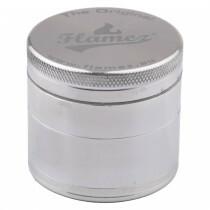Flamez grinder 4 parts 50 mm silver