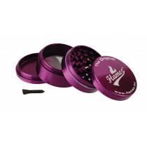 Flamez grinder 4 parts 63 mm purple