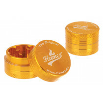 Flamez Grinder 2 Parts 30 Mm Gold