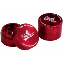 Flamez grinder 2 parts 30 mm red