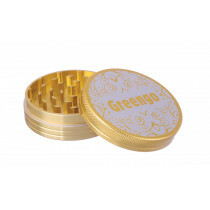 Greengo Grinder 2 Parts 63 Mm Gold