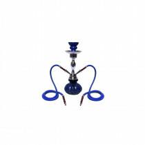 Shisha Small 2 Hose 29Cm Blue