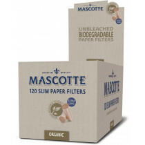 Mascotte Slim Filters Organic 10 Bags 120 Pcs