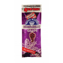Hemparillo Hemp Blunts Grape 4 Pcs