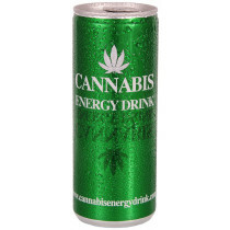 Can Cannabis Energy Drink Green 1Pc