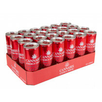Tray Cannabis Energy Drink Raspberry 24 Pcs