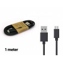 Grab N Go Micro Usb Charging Cable 1M Black