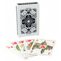 Katja playing cards black