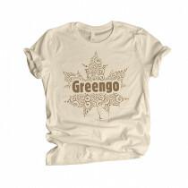 Greengo Organic T-Shirt Natural Cotton M