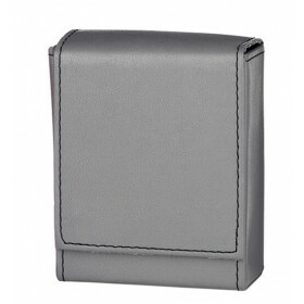 Angelo 25 Cig Box Faux Leather  Grey