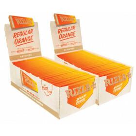 Rizla orange regular size 100 pcs.