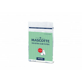 Mascotte extra slim filters bag of 150 pcs