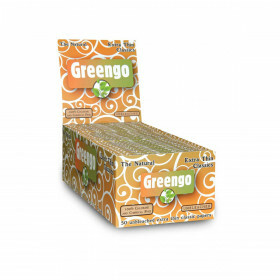 Display Greengo Unbleached Extra Thin Classics 50 Pcs