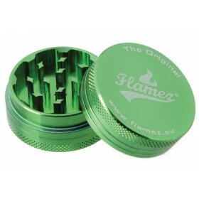 Flamez grinder 2 parts 40 mm green