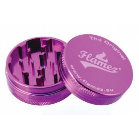 Flamez grinder 2 parts 50 mm purple