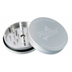 Flamez mega grinder 2 parts 89 mm silver
