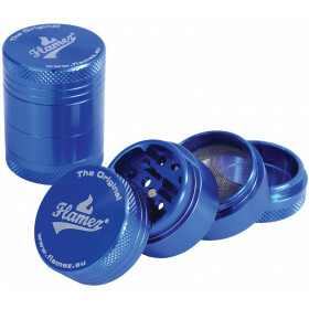 Flamez grinder 4 parts 30 mm blue
