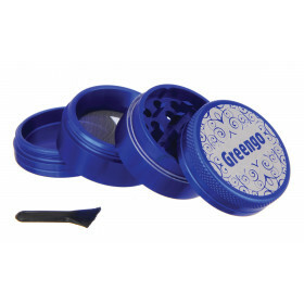 Greengo Grinder 4 Parts 40 Mm Blue