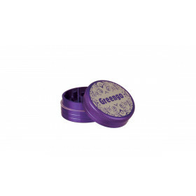 Greengo Grinder 2 Parts 40 Mm Purple