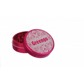 Greengo Grinder 2 Parts 50 Mm Pink