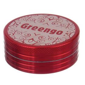 Greengo Grinder 2 Parts 50 Mm Red