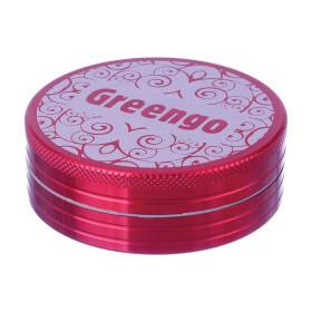 Greengo Grinder 2 Parts 63 Mm Red