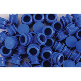 Caps for joint tube soft and straight  blue( 500 pcs.)