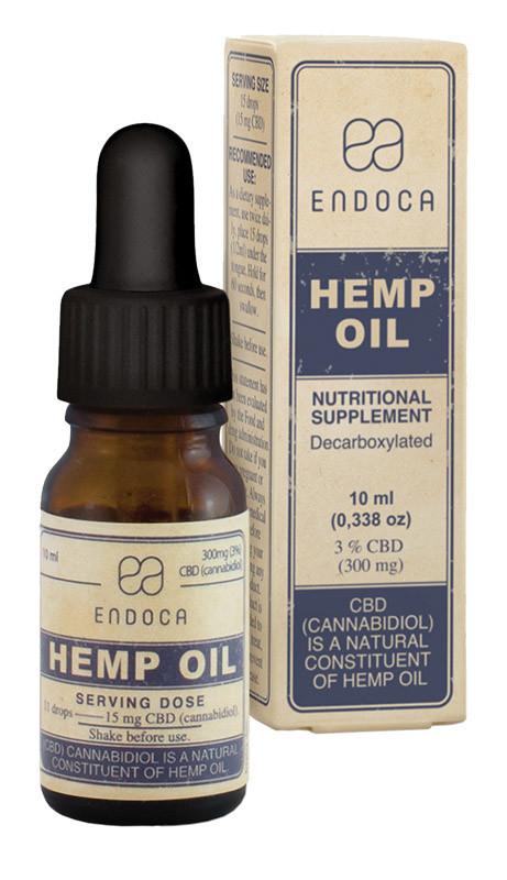Endoca CBD olie