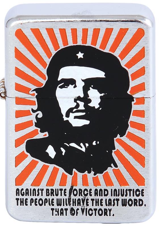 Benzine aansteker Che Guevara