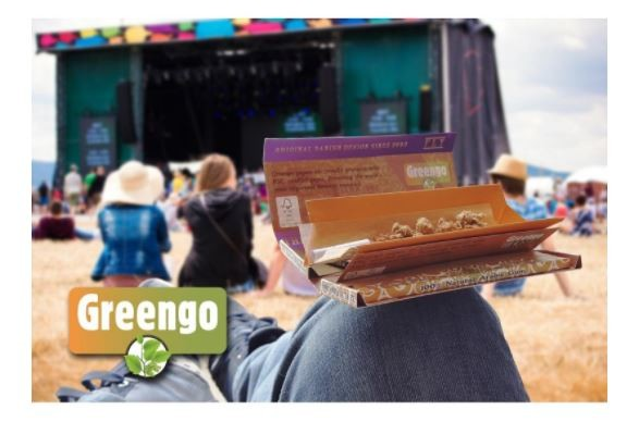 Greengo smoking papers Festival Pack