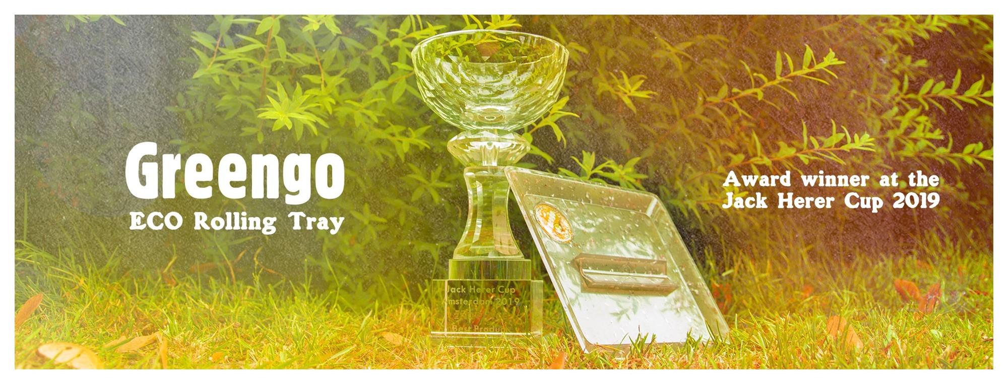 Greengo ECO Rolling Tray tweede Beste Product op Jack Herer Cup 2019